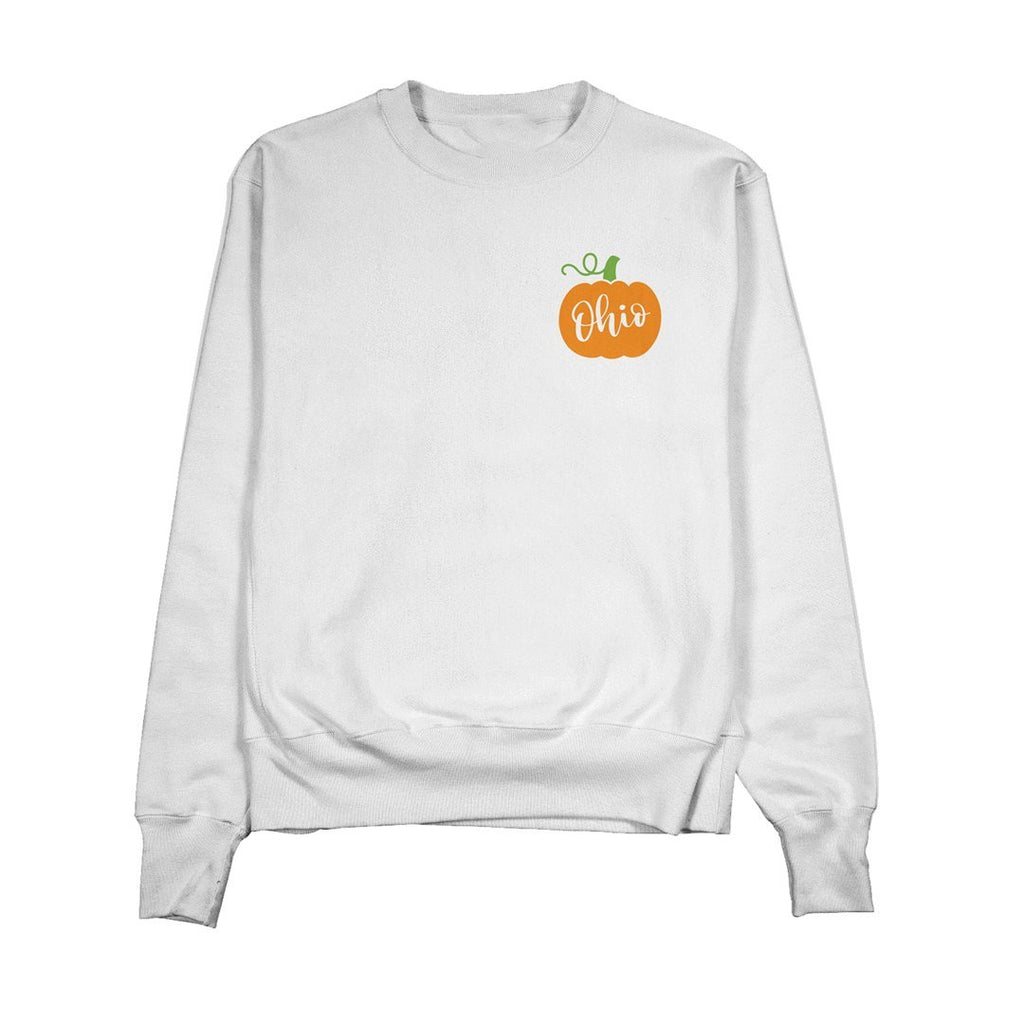 Ohio Pumpkin Crewneck - Buckeye Shirt Co.