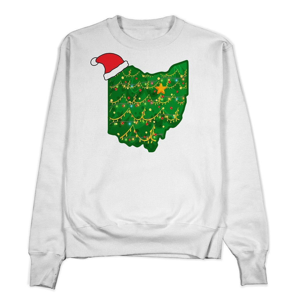 Ohio Ugly Christmas Crewneck - Buckeye Shirt Co.