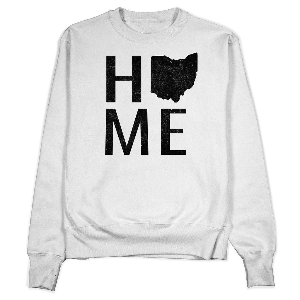 Stacked Ohio Home Crewneck - Buckeye Shirt Co.
