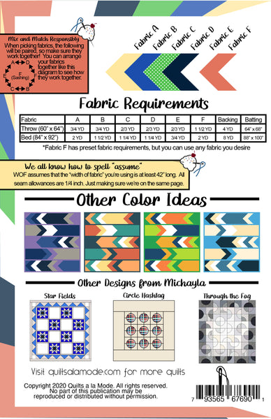New Beginnings Pattern PDF - Quilts a la Mode