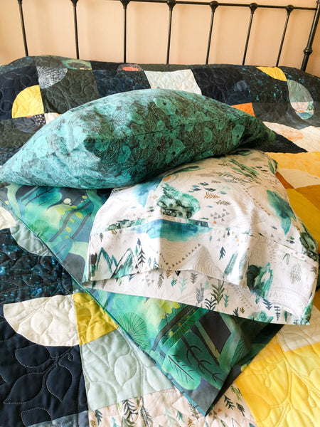 Custom pillowcase - Quilts a la Mode