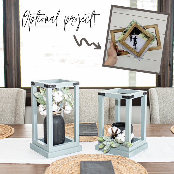 Lantern Duo | March 2021 | Project Home DIY