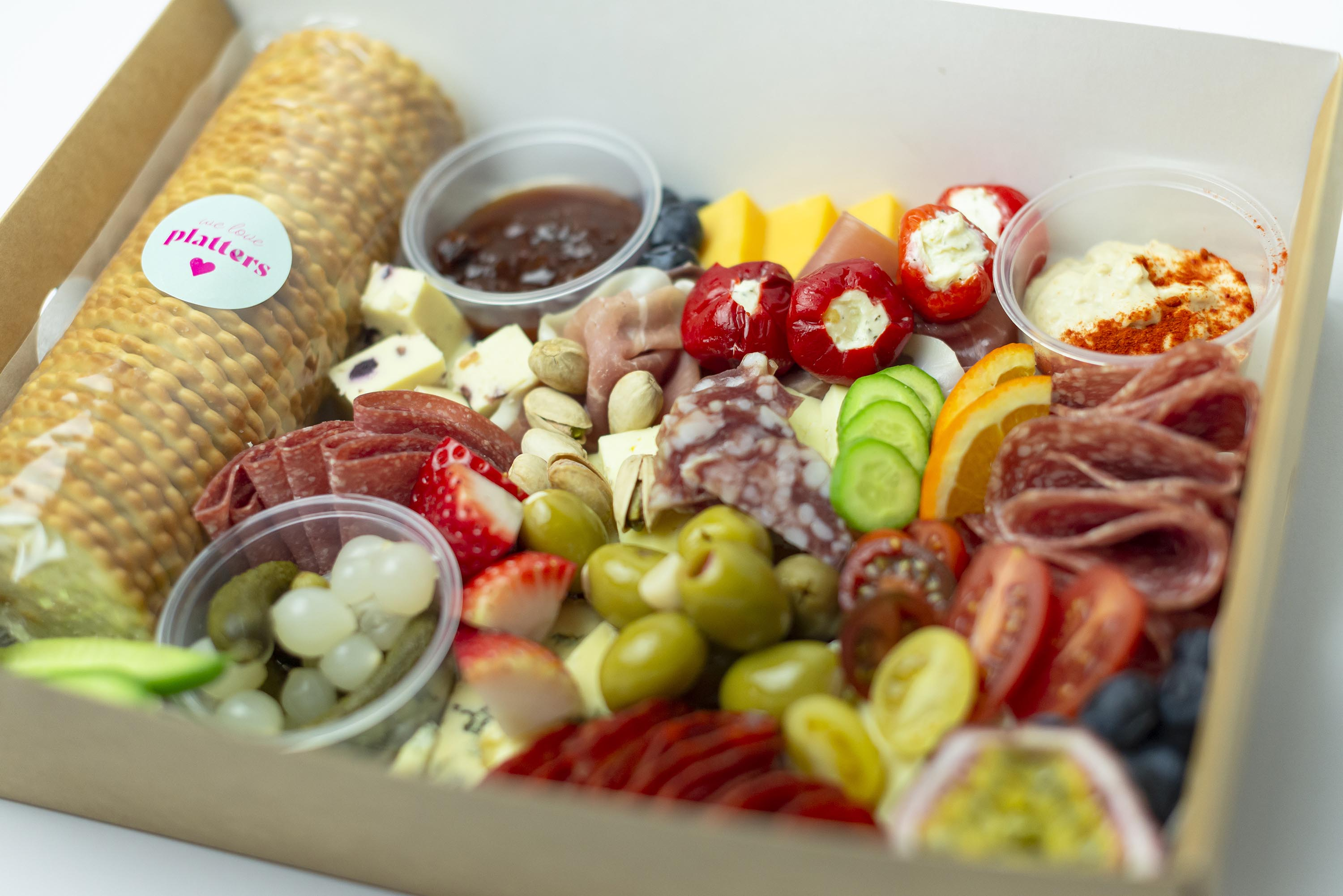 Cheese & Charcuterie Box
