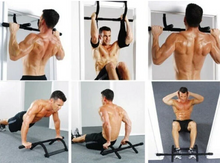 Load image into Gallery viewer, Doorway Gym Chin Up Pull Up Bar Multi-Function Home Gym Strength Frame