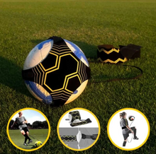 Load image into Gallery viewer, Football Bungee - Ultimate Solo Soccer Trainer