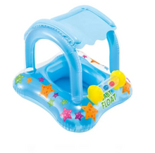 Load image into Gallery viewer, Toddler Swimming Pool Float With Canopy #Q