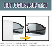 Load image into Gallery viewer, PHOTOCHROMIC POLARIZED SUNGLASSES