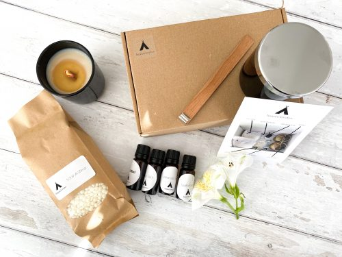 Premium Soy Candle Making Kit 1 Candle