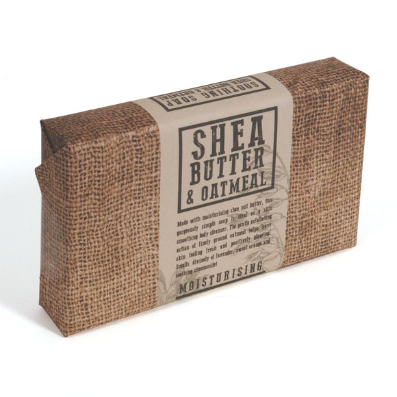 Moisturising Shea Butter and Oatmeal Soaps