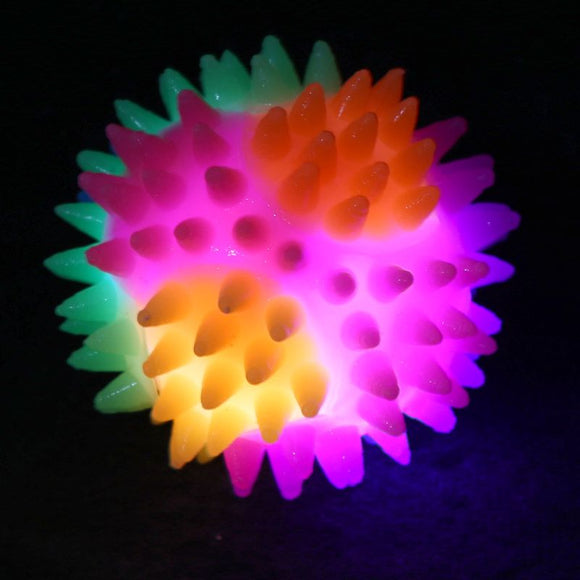 Spiky Bouncing Ball with LED