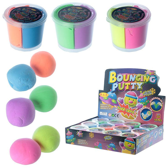 Two Tones Bouncing Putty