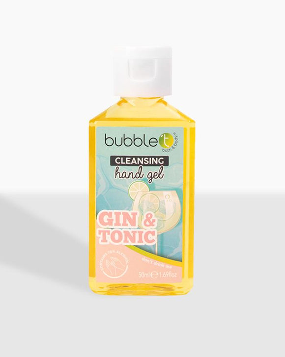 Gin & Tonic Anti Bacterial Cleansing Hand Gel (70% Alcohol)