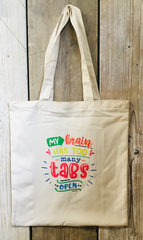 Too many tabs Tote Bag