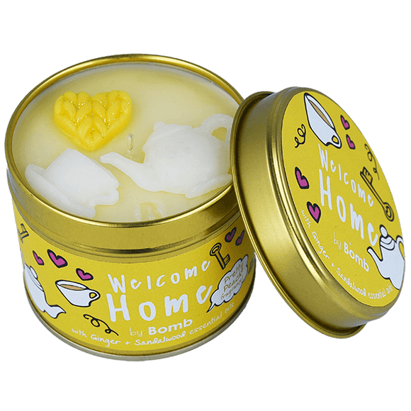 Welcome Home Tinned Candle