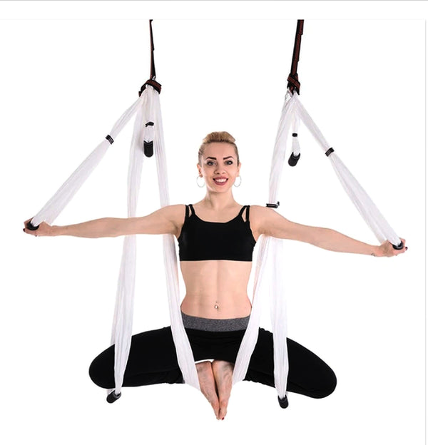 Aerial Yoga Hammock - Flying Fitness Swing