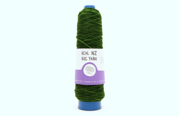 Daintree -The REAL NZ Rug Yarn - Hand-dyed wound to Cones for Tufting