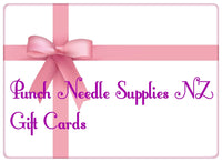 Gift Card - Punch Needle Supplies NZ