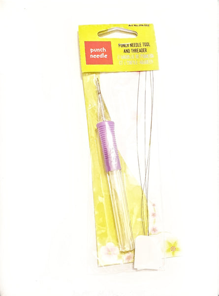 Purple Non-Adjustable Small Punch Needle - Punch Needle Supplies NZ