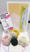 The Beginners Basic Kit - Mother and Eve Pattern! - Punch Needle Supplies NZ