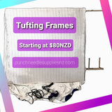 Extra Large Tufting Frames - Punch Needle Supplies NZ
