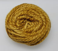 "Pumpkin Yellow ""Westie"" Punch Needle Wool (Month 3) - Punch Needle Supplies NZ"