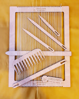 Laser Cut Plywood Weaving Loom - Designed and Made in NZ! - Punch Needle Supplies NZ