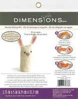 Dimensions Needle Felting Kits - Bunny - Punch Needle Supplies NZ