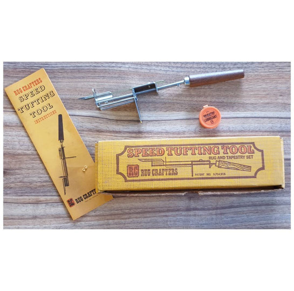 Vintage Speed Tufting Tool by Rug Crafters