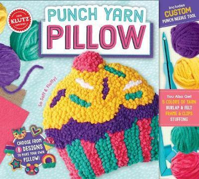 Kids Punch Needle Pillow Kit