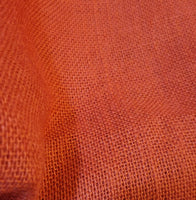 Red Hessian Fabric for Punch Needling