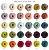 DMC Natura XL 30 Colours - Punch Needle Supplies NZ