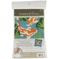 2D Koi Needle Felted Picture Kit