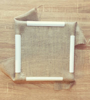 Q Snap Frame for Punch Needling and Quilting