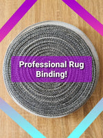 Professional Rug Binding *ships immediately* by DHL Express