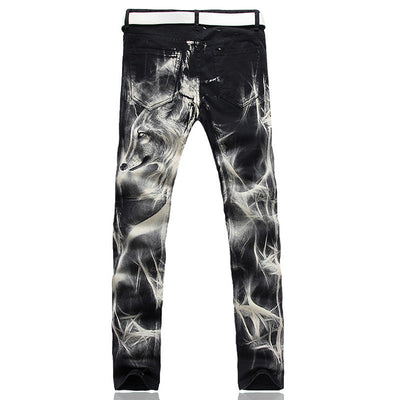 Fashion Wolf Stretch Denim Jeans