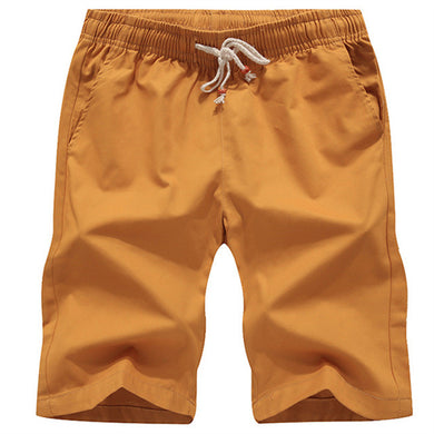 Perry Boat Shorts - Mustard