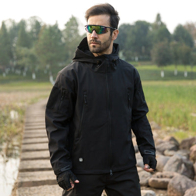 Heavy Duty Tactical Jacket - Black