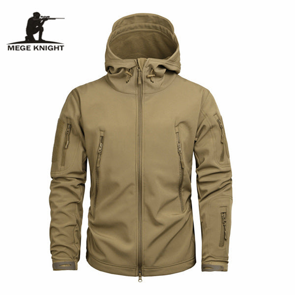 Mege Knight Winter Jacket - Brown