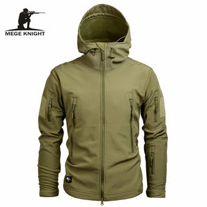 Mege Knight Winter Jacket - Khaki