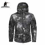 Mege Knight Winter Jacket - Grey Camo