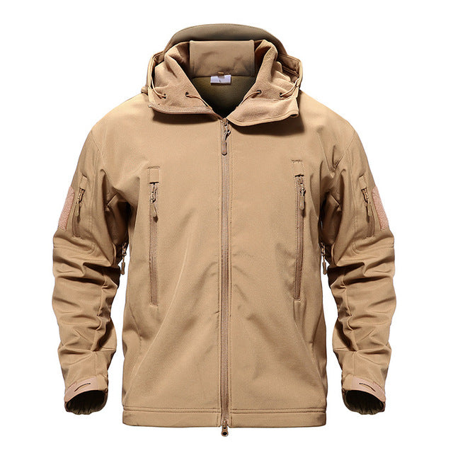 Heavy Duty Tactical Jacket - Sand