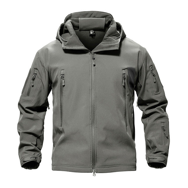 Heavy Duty Tactical Jacket - Grey Mist