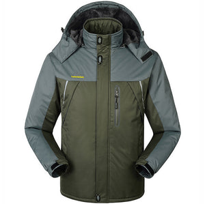 Waterproof Thermal Hooded Coat