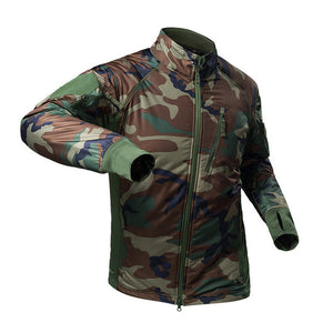 River Warrior Bomber Jacket - Deep Camo