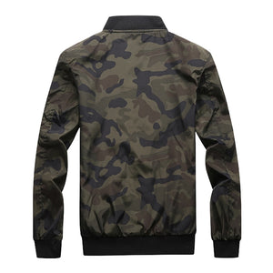 Camouflage Jacket - Army Green