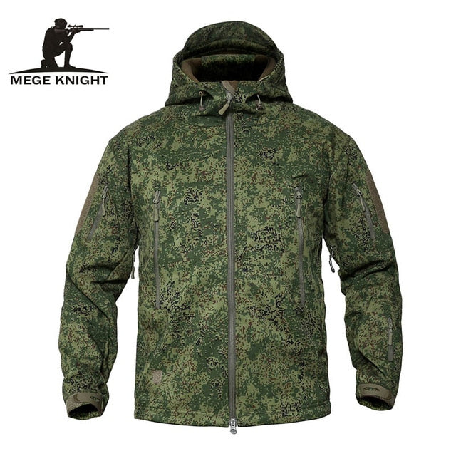 Leaf Camo Mege Knight Winter Jacket