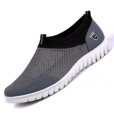 ComfyBoat Breatheable Slip Ons - Grey