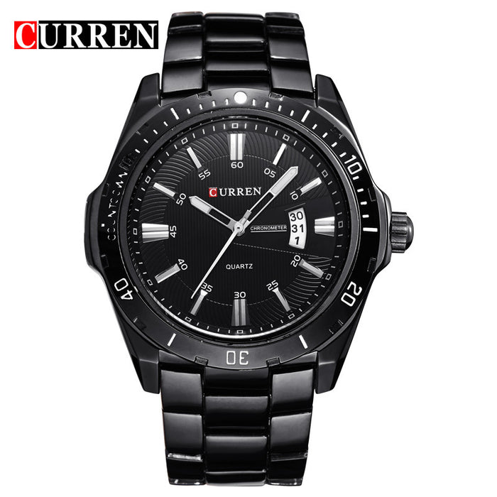 Curren Outdoors Watch - Black