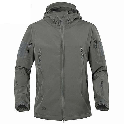 Military Style Waterproof Windbreaker