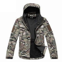 Military Waterproof Windbreaker - Army Green